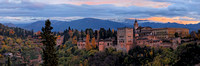 Alhambra Sunset Panorama