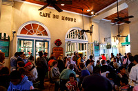 Crowd at Cafe du Monde