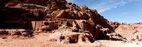 Outer Siq and Streets of Facades Panorama
