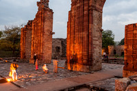 Qutb Complex at Twilight