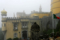 Foggy Day at Pena Palace, Sintra