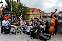 Musicians at Charles Bridge