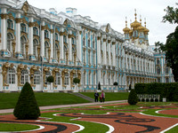 Exterior Grounds of Catherine Palace