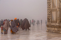 A foggy morning at Taj