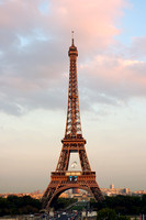 Eiffel Tower at Late Afternoon