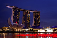 Marina Bay Sands at Twilight