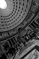 Pantheon Interior (B&W)
