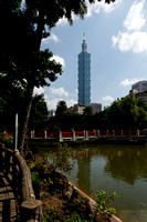 Taipei 101 from SYS Memorial Garden