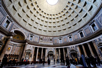Interior of Pantheon, Rome