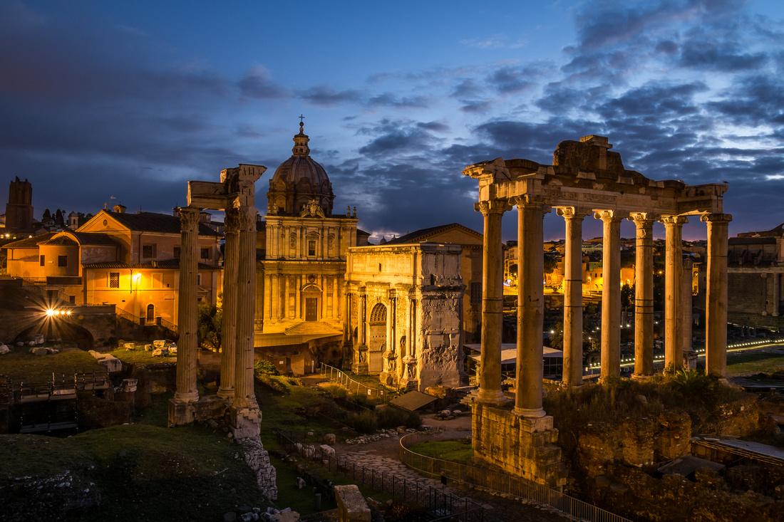 Rome at Dawn