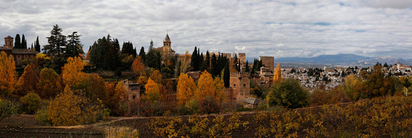 Fall Colors at Alhambra