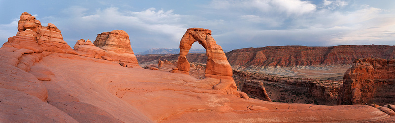 Delicate Arch Panorama, Arches NP