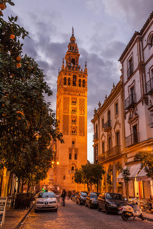 Giralda Tower at Dusk
