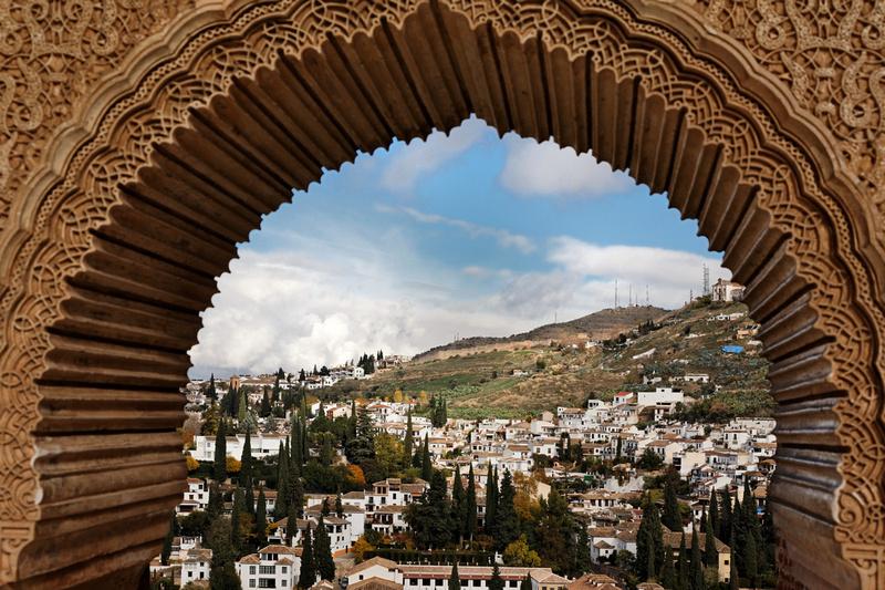 View of Albayzin Quarter