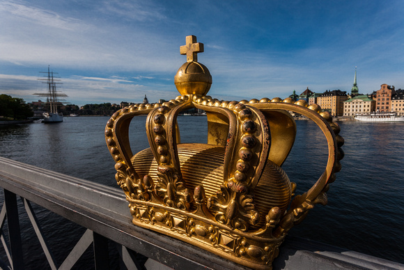 Royal Crown, Skeppsholmen