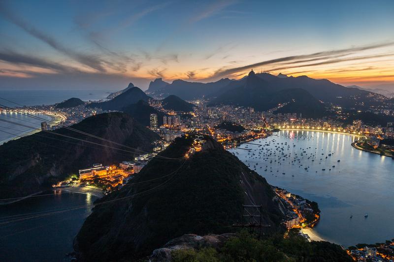 Rio at Dusk