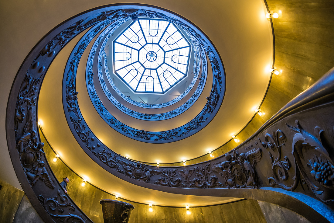 Vatican Staircases