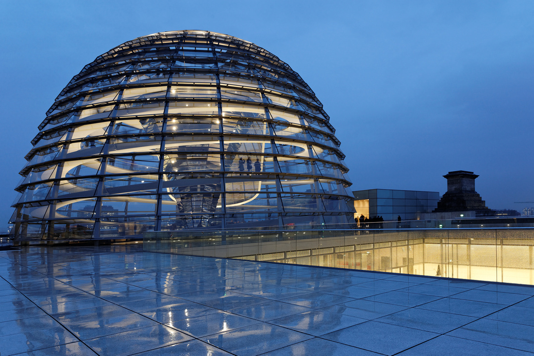 Reichstag Reflections