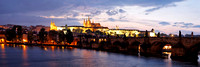 Prague Panorama at Dusk